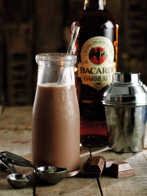 Bacardi Oakheart Cocktails: Death By Chocolate