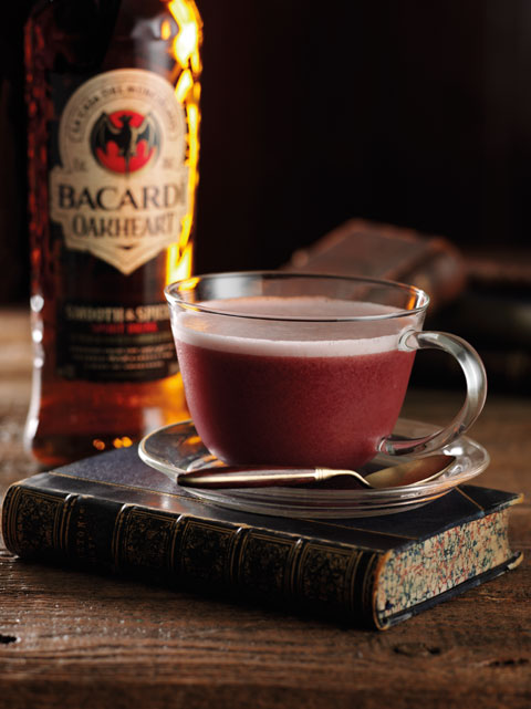 Bacardi Oakheart Cocktails: Mad Hatter's Tipple