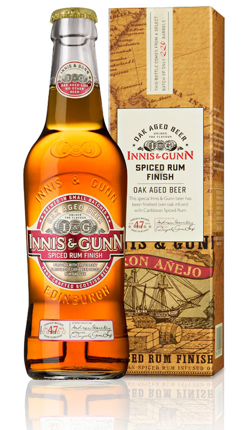 Innis & Gunn Spiced Rum Finish Beer