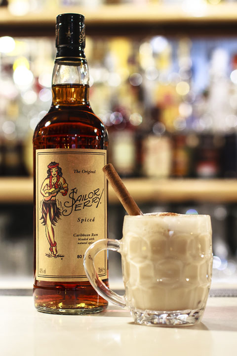 Sailor's Nightcap with Sailor Jerry Spiced Rum