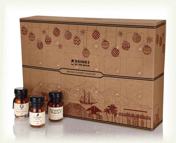 The Rum Advent Calendar by Drinks By The Dram