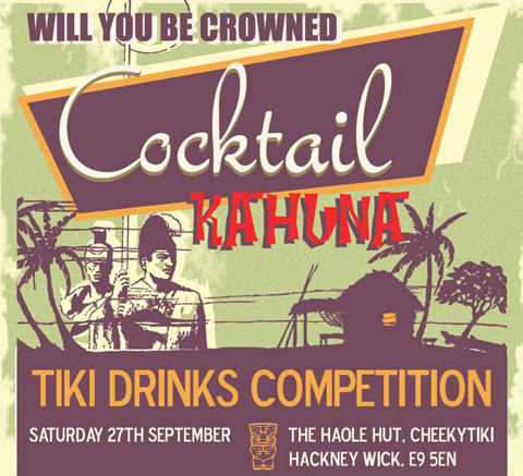 Cocktail Kahuna Competition
